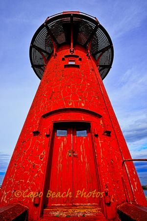 Ona Red Lighthouse