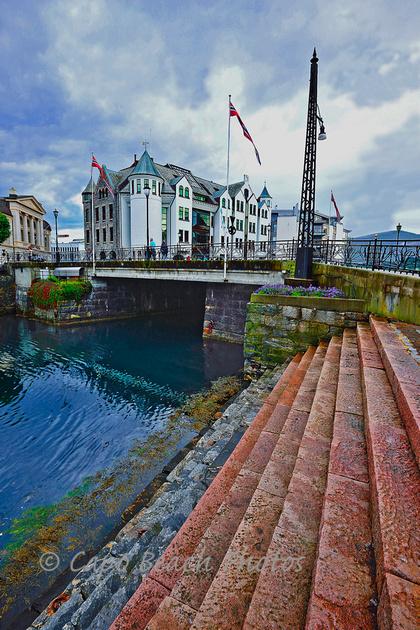 Alesund Canal Bridge