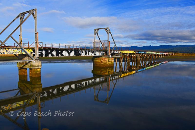 Eureka Slough Railroad Bridge