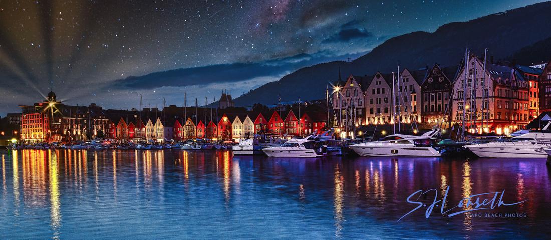 Bergen Night Lights