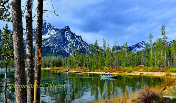 Fishing Stanley Lake