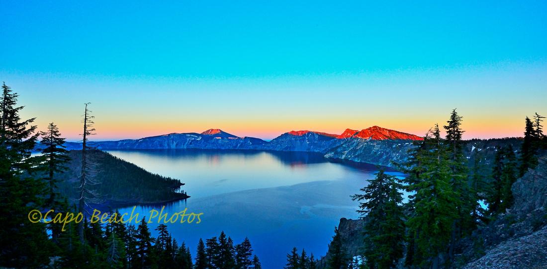 Crater Lake Dusk