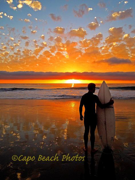 Surfin Buddies Sunset
