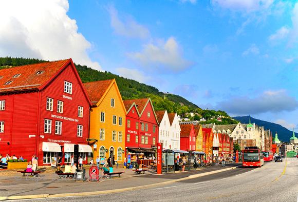 Bryggen Street View